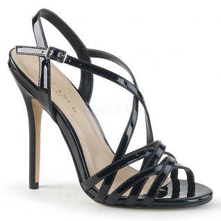 Sandales noires vernies amuse-13
