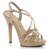 Sandale caramel à brides