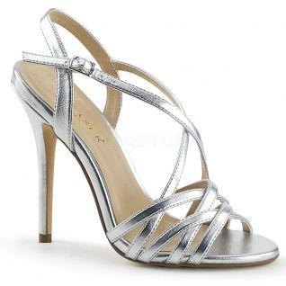 Sandales argentées amuse-13