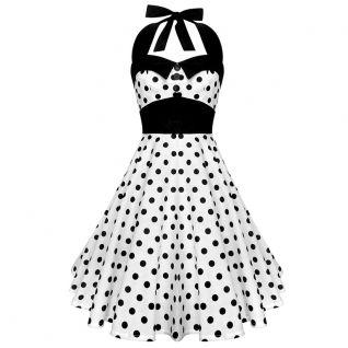 Robe Pinup coloris noir et blanche