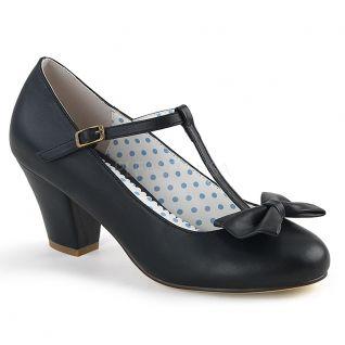Escarpin d'Orsay noir wiggle-50