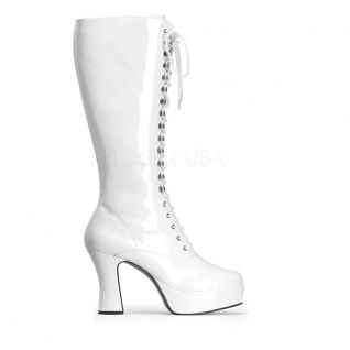 Bottes Gothiques Blanches Vernies EXOTICA-2020
