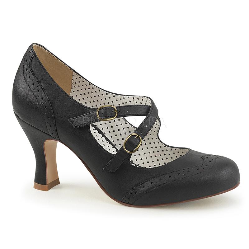 Escarpin vintage noir - Pointure : 36