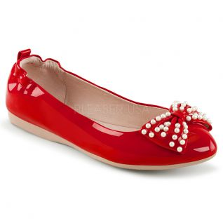 Ballerines rouges ivy-09