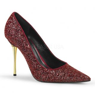 Escarpins glitter rouge appeal-20g