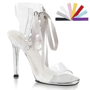Sandale transparente gala-32