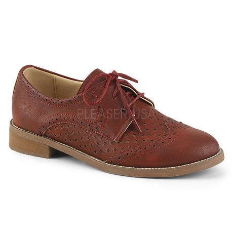Derbies Hepburn marron