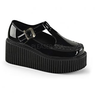 Creepers noirs vernis