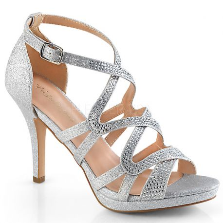 Sandales habillées argentées