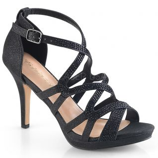 Nu-pieds habillés noirs