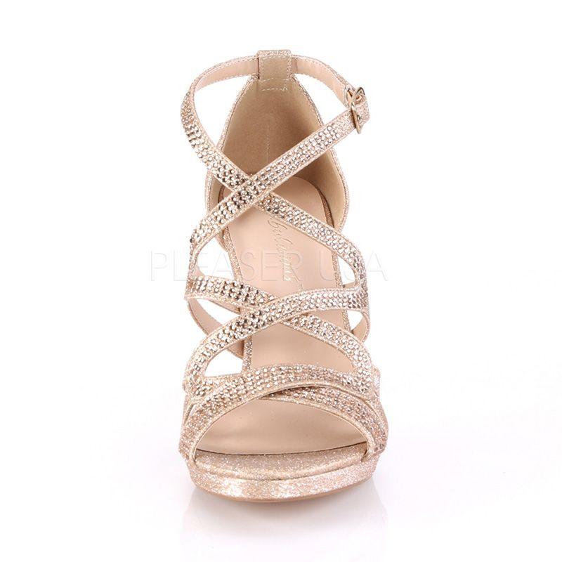 f370b11ef1c260 ... chaussure habillée paillettes dorées; nu-pied doré talon pas cher ...