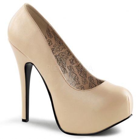 3b836573179bd9 Chaussure Femme Nude Pieds Larges Escarpin À Talon Z6zZOqnr