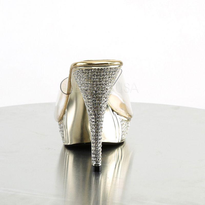 ... paillettes et strass  Chaussures mules pas cher de mariage ... 0598234d08d0