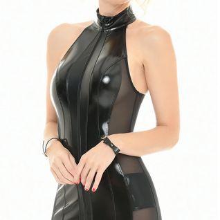 Robe noire zippée Catanzaro