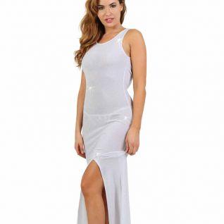 Robe libertine blanche