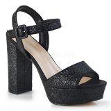 Sandale vintage noire