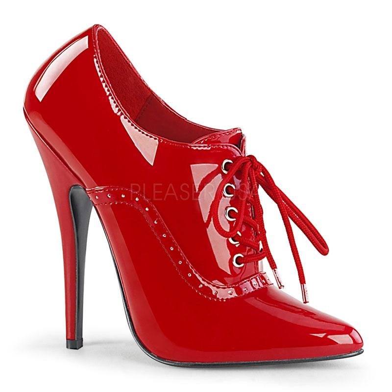 Richelieu rouge vernis - Pointure : 47