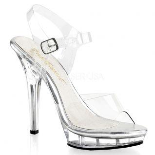 Sandale transparente LIP-108