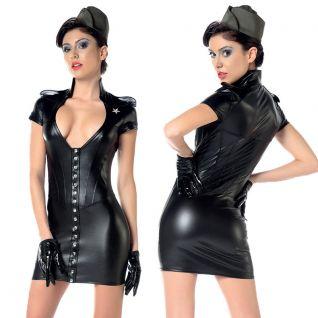 Robe fétichiste noire