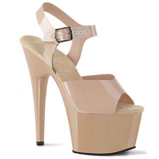 Sandale camel femme