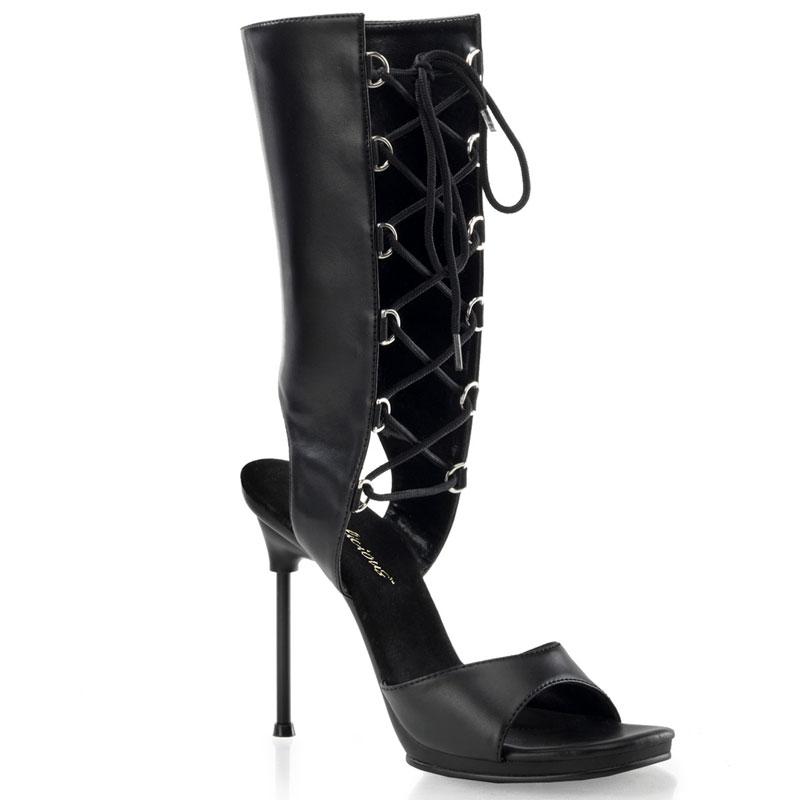 Sandale bottine noire - Pointure : 39