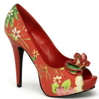 Escarpins motif floral