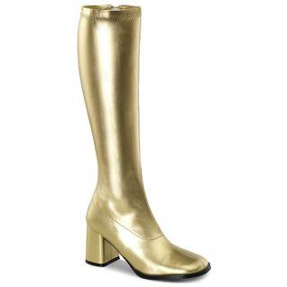 Bottes dorées style rétro gogo-300