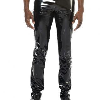 Pantalon vinyle homme