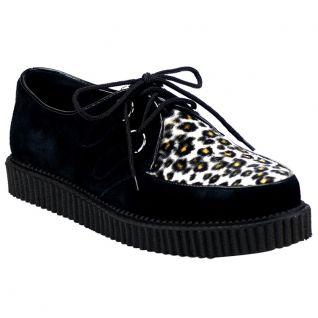 Chaussure homme léopard petite pointure