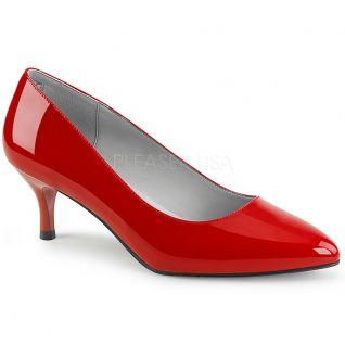 Chaussures escarpins rouge talon fin