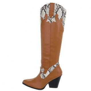 Bottes coloris caramel cowgirl