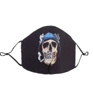 Masque covid tête de mort