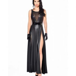 Robe longue wetlook