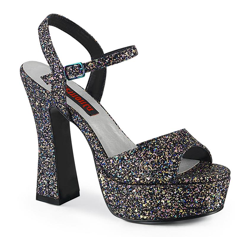 Sandale plateforme paillette - Pointure : 46 - Demonia - Modalova