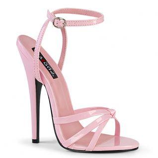 Sandales hauts talons rose bombon