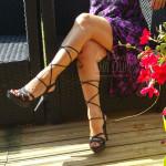 sandale à brides pour l'été