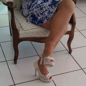 sandale de mariage