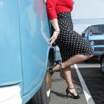chaussure femme vintage