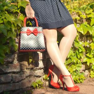 sac vintage et escarpin vintage