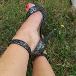 sandale a talon
