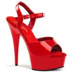 sandale delight-609 rouge