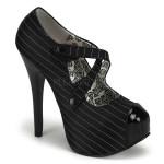 Chaussure haut talon gangster femme