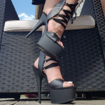 sandale haute plateforme delight 600-14