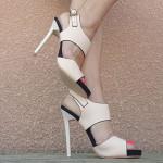chaussure a talon fin