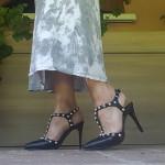 chaussure d'ete noire