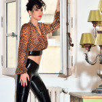 Chemisier léopard catanzaro