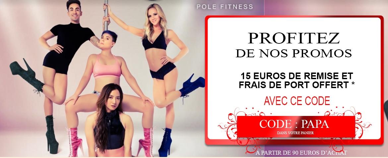 15 EUROS DE REMISE ET FRAIS DE PORT GRATUIT ( à partir de 90 euros d'achat )