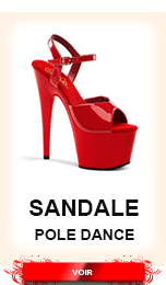 sandale pole dance